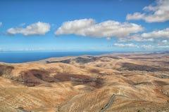 Fuerteventura Mirador Morro Velosa Foto de Stock Royalty Free