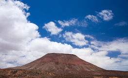Fuerteventura, Montana Roja Royalty Free Stock Photography