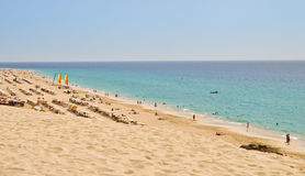 Fuerteventura. Morro Jable beach Stock Photo