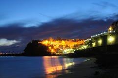fuerteventura natt Arkivbilder