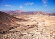 Fuerteventura nordique Photographie stock libre de droits