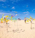 FUERTEVENTURA - NOVEMBER 13, 2011: KITE FESTIVAL Royalty Free Stock Image