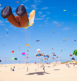 FUERTEVENTURA - NOVEMBER 13, 2011: KITE FESTIVAL Royalty Free Stock Images
