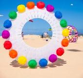 FUERTEVENTURA - NOVEMBER 13: Kite festival Royalty Free Stock Photo