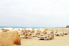Fuerteventura ocean Fotografia Stock