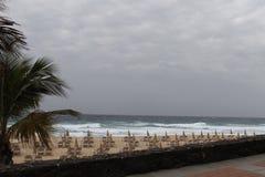 Fuerteventura ocean. See, wind at the see side, waves, ocean Royalty Free Stock Images