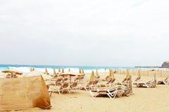 Fuerteventura ocean Stock Photography