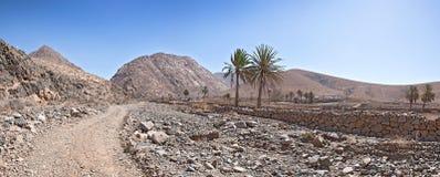 Fuerteventura - paisaje cerca de Buen Paso Imagen de archivo
