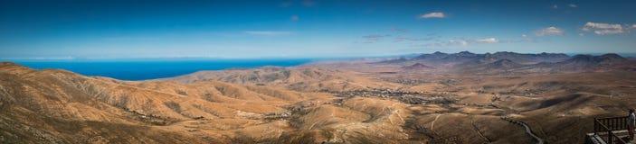 Fuerteventura panorama Royaltyfria Foton