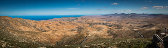 Fuerteventura panorama Royalty Free Stock Image