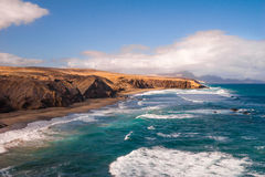 Fuerteventura Pared beach Canary Islands Spain Royalty Free Stock Image