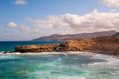 Fuerteventura Pared beach Canary Islands Spain. Fuerteventura La Pared beach at Canary Islands Spain Stock Photo