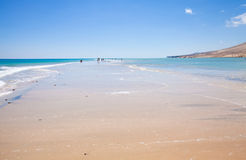 Fuerteventura,  Playa De Sotavento Royalty Free Stock Photography