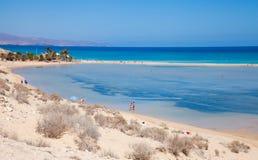 Fuerteventura,  Playa De Sotavento Royalty Free Stock Image