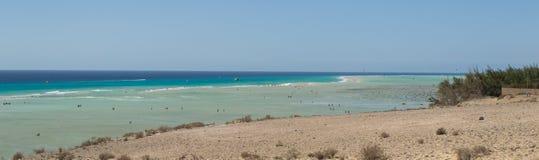 Fuerteventura, Playa de Sotavento Στοκ εικόνες με δικαίωμα ελεύθερης χρήσης