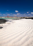 Fuerteventura, rippled sand Royalty Free Stock Image