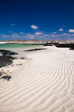 Fuerteventura, rippled sand Royalty Free Stock Photos