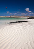 Fuerteventura, rippled sand Stock Image