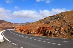 Fuerteventura road. Stock Image
