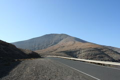 Fuerteventura Roads Stock Photos