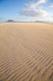 Fuerteventura,sand dunes Royalty Free Stock Photo