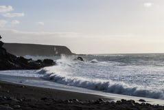 Fuerteventura Seascape Fotografering för Bildbyråer