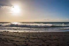 Fuerteventura Seascape Arkivfoto