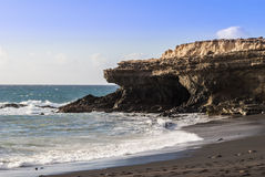 Fuerteventura Seascape Royaltyfria Foton