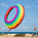 FUERTEVENTURA, SPAIN, NOVEMBER 08 2014, Kite Festival Royalty Free Stock Photo