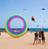 FUERTEVENTURA, SPAIN, NOVEMBER 08 2014, Kite Festival Stock Photo