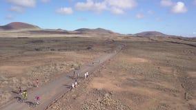 Fuerteventura Spain:2018-10-27, XX edition Fudenas 2018 mountain bike competitio. N stock footage