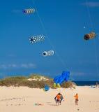 FUERTEVENTURA, SPANIEN am 8. November 2014 Drachen-Festival Stockfoto