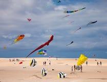 FUERTEVENTURA, SPANJE, 08 NOVEMBER 2014, Vliegerfestival Royalty-vrije Stock Afbeeldingen