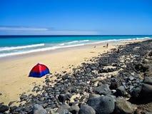 Fuerteventura-Strand Stockfotografie