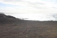 Fuerteventura Vista atlantica del ` s Fotografia Stock Libera da Diritti