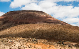 Fuerteventura - volcanic island. Fuerteventura, the oldest and wild island in the Canary Islands Stock Images