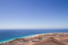 Fuerteventura, wyspa kanaryjska Zdjęcia Stock