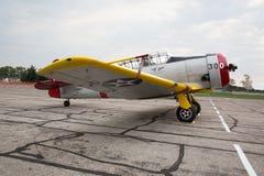 Fuerza aérea de Commemortive Noryh 1947 SNJ-4 americano Foto de archivo libre de regalías