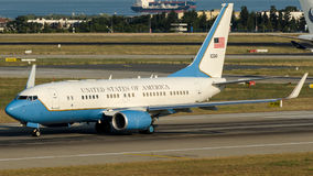 01-0041 fuerza aérea de los Estados Unidos de América, Boeing 737 Imagen de archivo