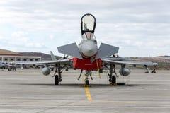 Fuerza aérea española Eurofighter Imagen de archivo libre de regalías