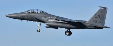 Fuerza aérea F-15 Eagle imágenes de archivo libres de regalías