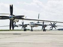 Fuerza aérea militar rusa Imagen de archivo