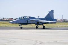 Fuerza aérea surafricana SAAB Gripen C Imagen de archivo libre de regalías
