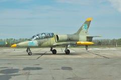 Fuerza aérea ucraniana aero- L-39 Albatros Fotos de archivo libres de regalías