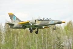 Fuerza aérea ucraniana aero- L-39 Albatros Imágenes de archivo libres de regalías