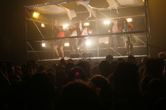 Fuerza Bruta in Buenos Aires Royalty Free Stock Photo