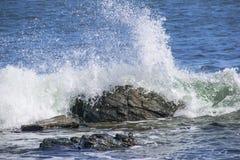Fuerza de los océanos Fotos de archivo libres de regalías