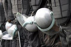 Fuerza de policía Imágenes de archivo libres de regalías
