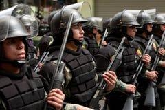 Fuerza de policía Imagen de archivo libre de regalías