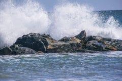 Fuerza de una onda Imagenes de archivo